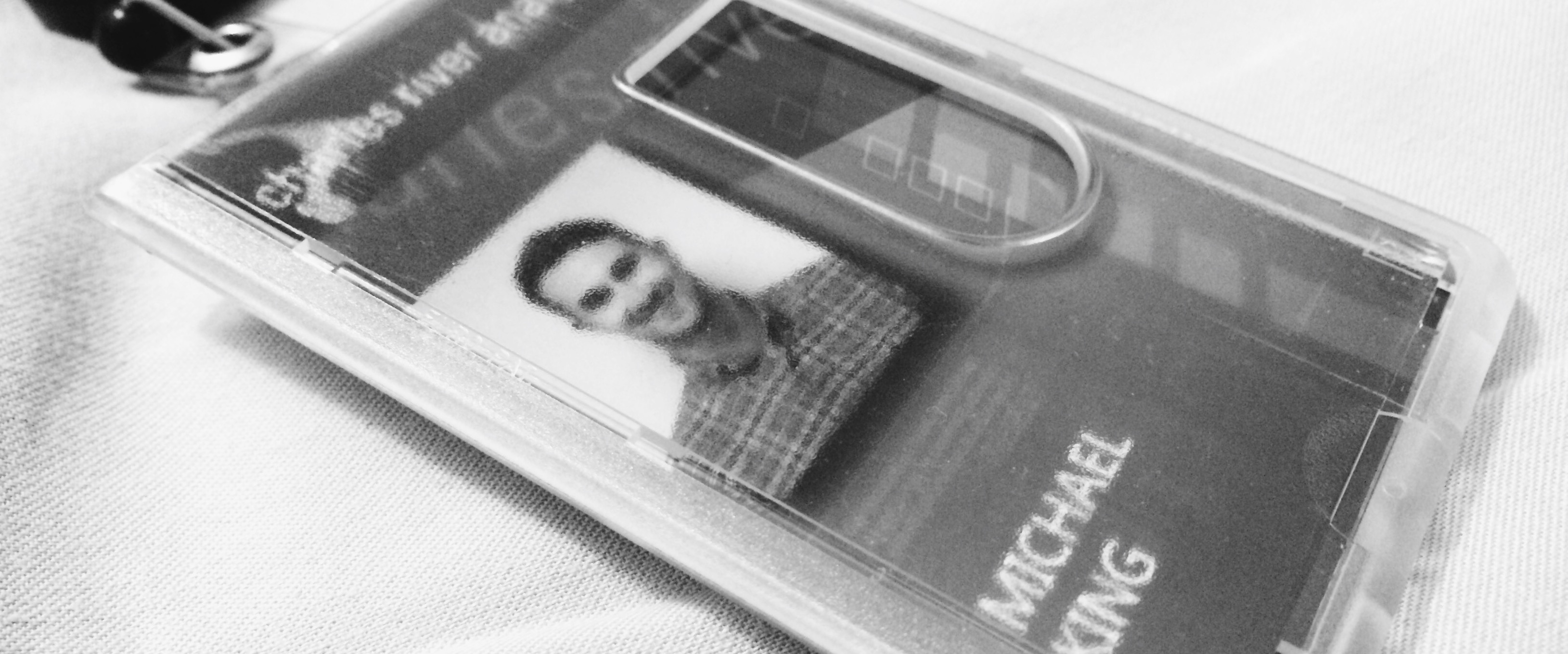 Work ID Badge